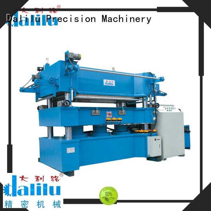 Dalilu hydraulic gilding press machine directly sale for book covers