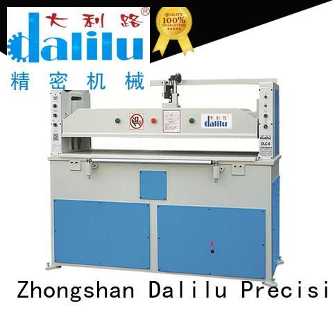 Dalilu realiable leather cutting machine on sale for car cushions