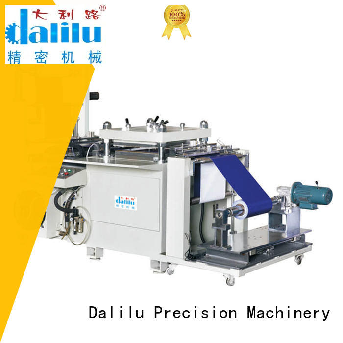 Dalilu efficient puzzle cutting machine wholesale for woven bags
