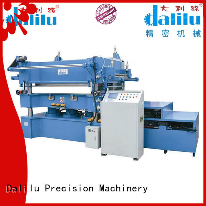 multi function paper stamping machine dlc9m directly sale for advertising