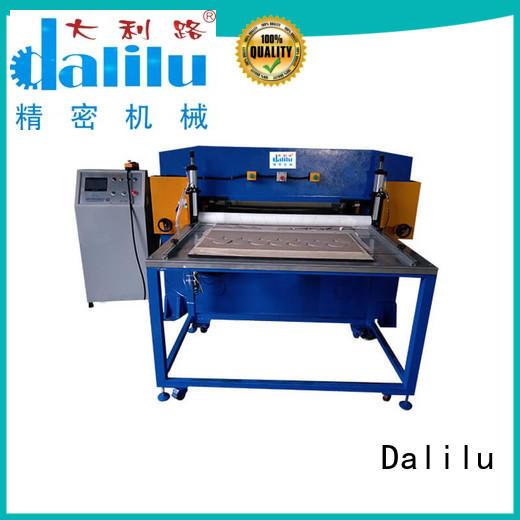 Dalilu good quality foam cutting machine manufacturer for workplace