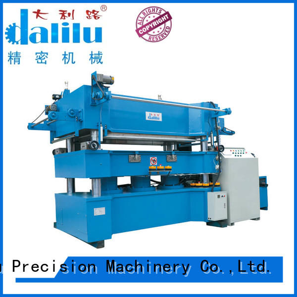 Dalilu effective paper roller stamping machine feed for advertising