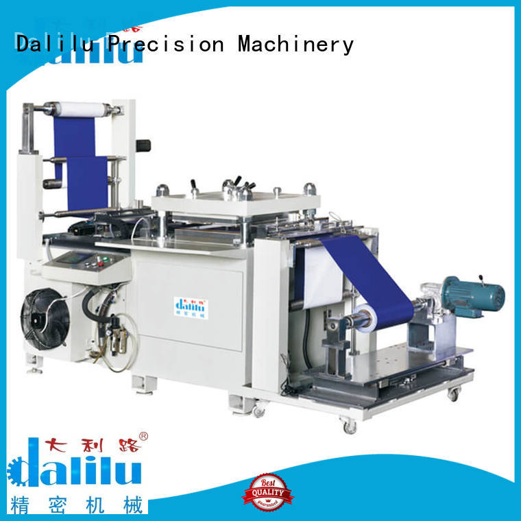 Dalilu precise puzzle cutting machine factory price for plastic bags