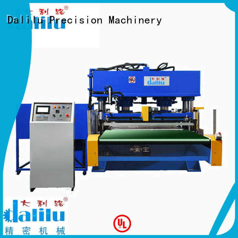 Dalilu durable large die cutting machine factory price for wallets