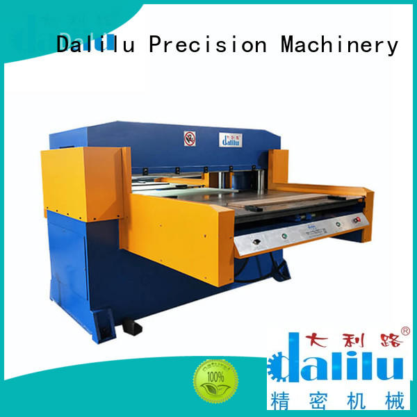 Dalilu dlc8 car leather cutting machine from China for automobile oil seal