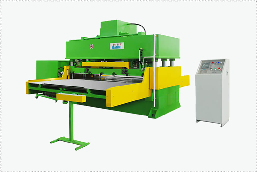 Dalilu dlc8 automatic cutting machine supplier for rubber belt-1