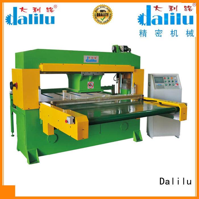 Dalilu arm large die cutting machine design for wallets