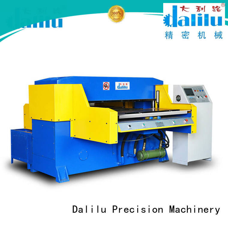 Dalilu dlc8e plastic cutting machine supplier for plastic bags