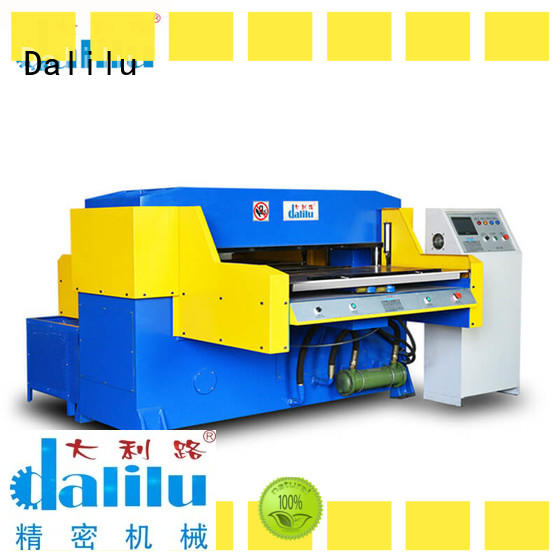 Dalilu efficient plastic die cutting machine personalized for flexible plastic packaging