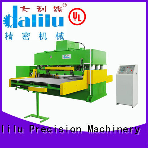 Dalilu accurate automatic cutting machine supplier for rubber belt