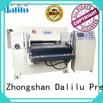 aluminum automatic feeding protective hydraulic press die cutting machine Dalilu