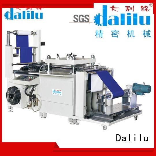 Dalilu long lasting automatic rubber cutting machine factory price for plastic lunch boxes