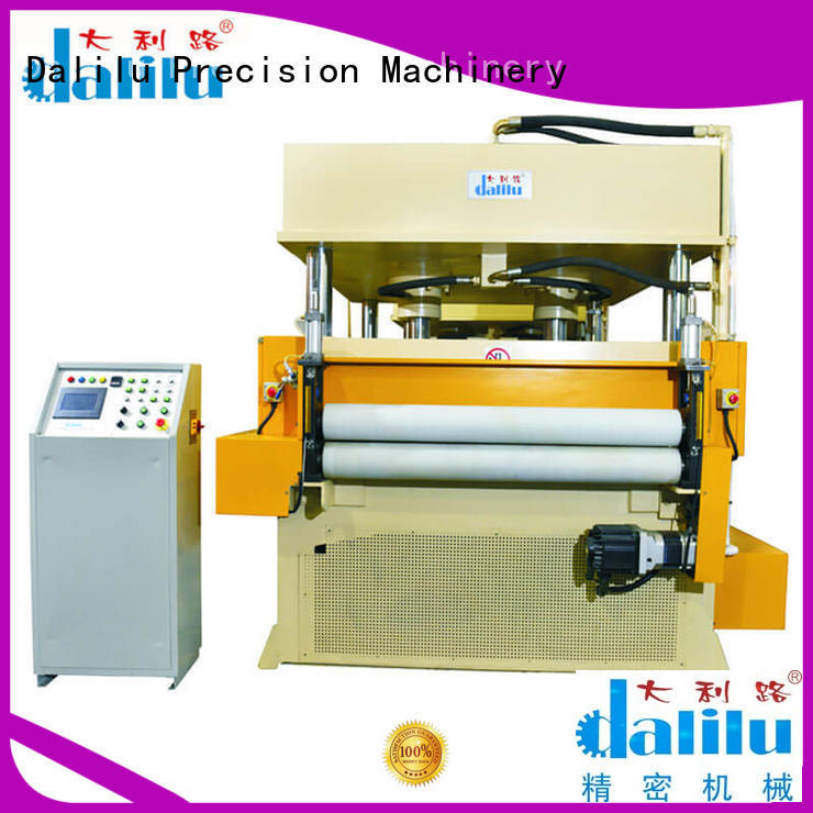 Dalilu four automatic rubber cutting machine supplier for woven bags