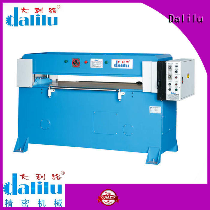 Plastic Blister Packaging Manual Die Cutting Press DLC-8