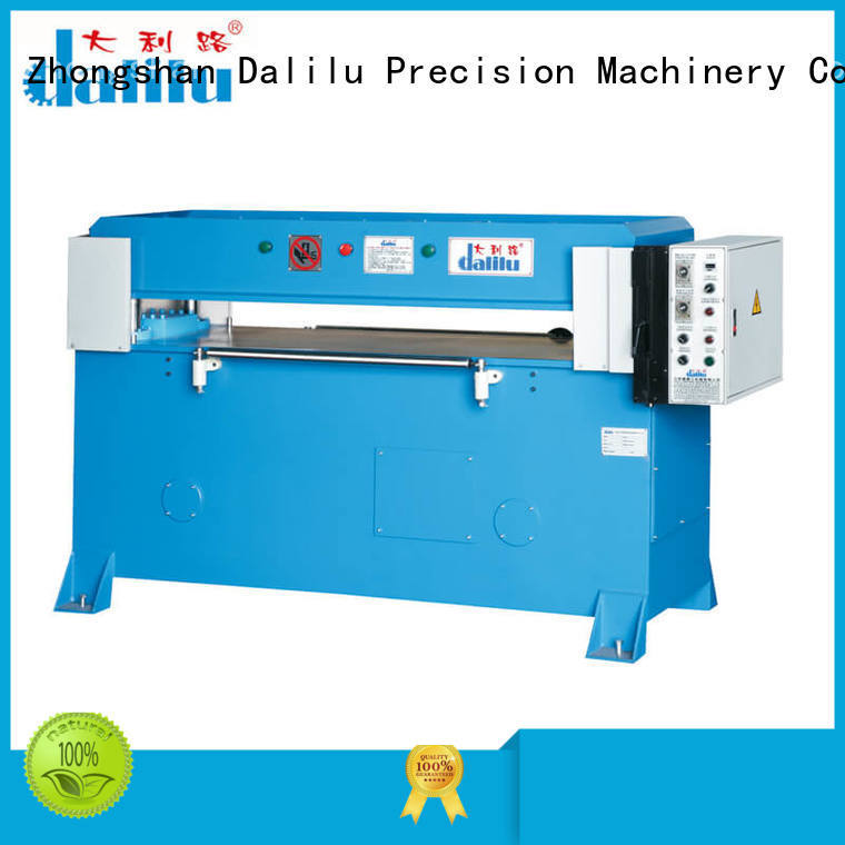 Dalilu Brand precision hydraulic programmable die cut machine four