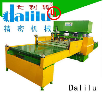 Dalilu machine clicker press die cutting machine factory price for car cushions