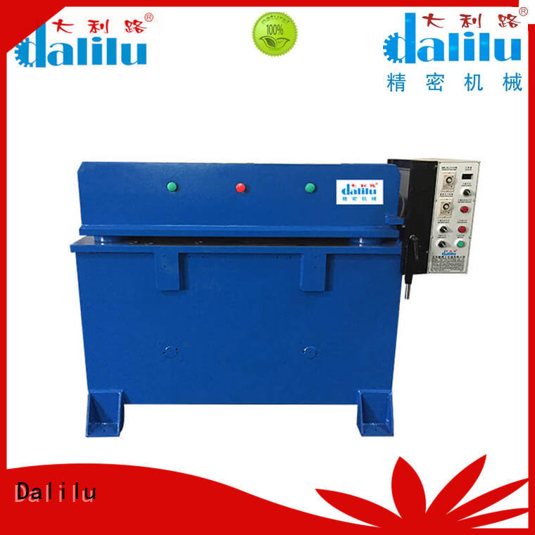 Dalilu professional automatic die cutter with good price for box