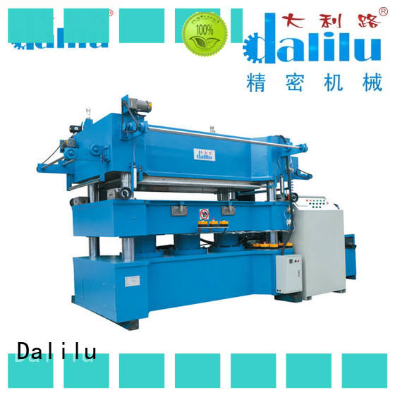 Dalilu unilateral paper stamping machine from China for advertising