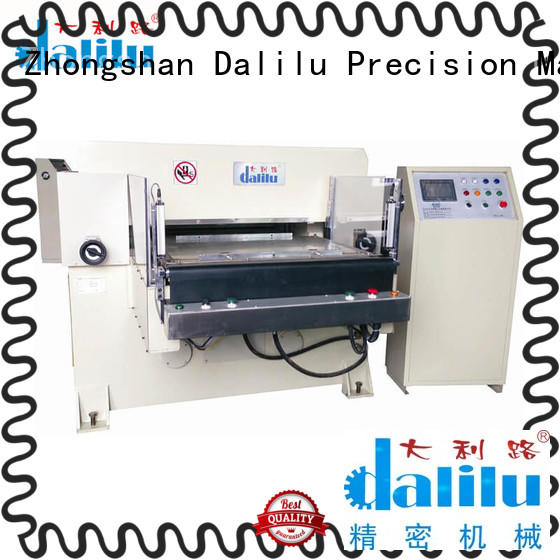 Dalilu die hydraulic press die cutting machine factory price for mobile phone pad