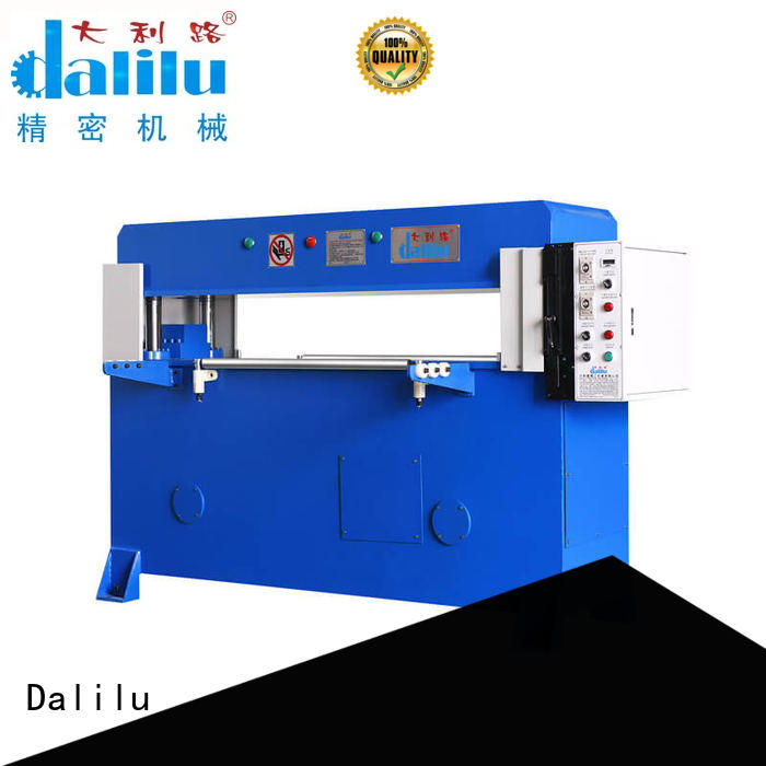 Dalilu professional automatic cutting machine factory price for rubber belt