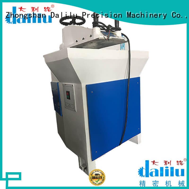 Dalilu leather cloth cutting machine design for belts