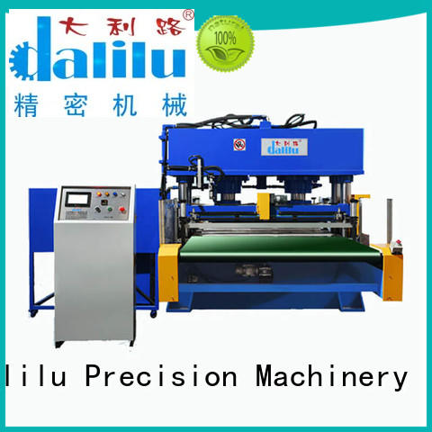 Dalilu durable automatic leather cutting machine design for belts